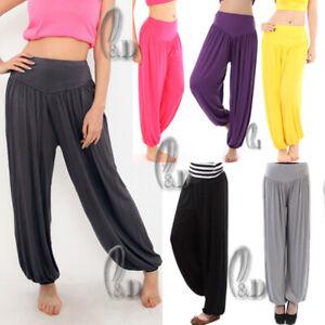 AU SELLER Casual Cotton Yoga Harem Loose Pants Dance Sports Trousers P127