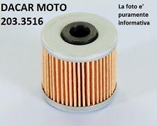 203.3516 FILTRO OLIO IN CARTA POLINI KYMCO K-XCT 300 i 4V  SUPER DINK 125 ie