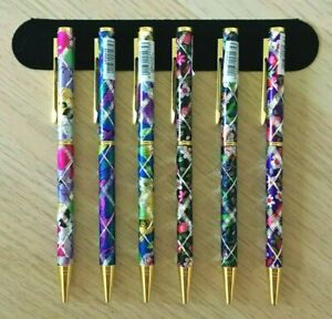 SPARKLY DECORATIVE PEN & POUCH LP119/122 (Choice Of 12) Laser Cut Gift Staionery