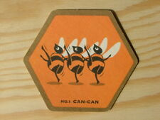 Beermat Coaster Young's Waggledance Honey Beer No1 can-can BM480
