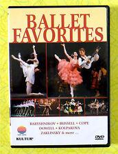 Ballet Favorites ~ DVD Movie ~ Rare Kultur Baryshnikov Bussell Cope Dance Video