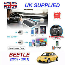 For VW Beetle iPhone 5 6 7 8 SE 10 mp3 Aux Digital Audio CD Changer Module 12pin