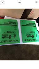 Nissan Terrano II Workshop Manual & Ford Maverick Handbook petrol diesel