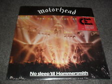 MOTORHEAD -NO SLEEP'TIL HAMMERSIMTH- LTD ED. RE-PRESS IDENTICAL TO FIRST PRES