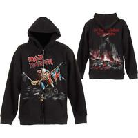 OFFICIAL LICENSED - IRON MAIDEN - SCUFFED TROOPER HOODED SWEATSHIRT HOODIE