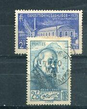 Timbre/Stamp - France -  N° 421 - 430  Oblitérés  - 1939 - TTB - Cote: + 9 €