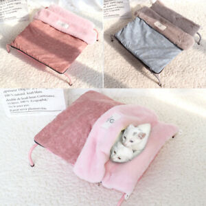 Raised Elevated Pet Cat Dog Bed Pet Folding Camping Fleece Cushion Mat Sleep Bed