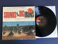SOUNDS OF BIG IRONS Championship Cycles LP Vinyl VG+/EX in SHRINK