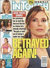 In Touch magazine Sandra Bullock Jennifer Aniston Kourtney and Khloe Kardashian