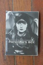Pandoras Box (DVD, 2006) Rare & Out of Print OOP Louise Brooks Pabst