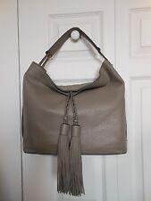 New Authentic Rebecca Minkoff Isobel Leather Hobo Bag Handbag Mushroom $295