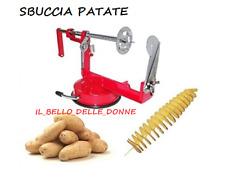 PELAPATATE  patate a spirale twister taglia affetta manuale in acciaio PATATINE