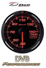 Defi Racer 60mm Car Oil Temperature Gauge - Red - JDM Style Stepper Motor