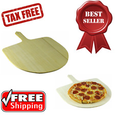 Classic Paddle Style Pizza Peel Poplar Wood Kitchen and Dining Utensil Tools