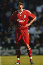 LIVERPOOL HAND SIGNED MARTIN KELLY 6X4 PHOTO.