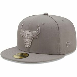 Chicago Bulls New Era Team Color Pack 59FIFTY Fitted Hat - Gray
