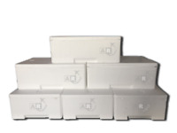6 Cassa Termica in Polistirolo Per Trasporto Alimenti da 3_5_6_7_10_15_20_30 KG
