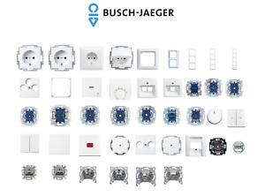 BUSCH JÄGER Balance SI Alpinweiß Schalter/Steckdose/Rahmen - frei wählbar