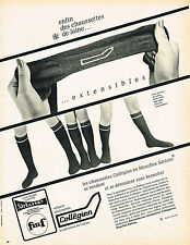 PUBLICITE ADVERTISING   1966   COLLEGIEN   chaussettes extensibles