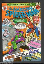 Amazing Spider-man Green Goblin Aim Giveaway Near Mint Marvel Comics 1980 Comic
