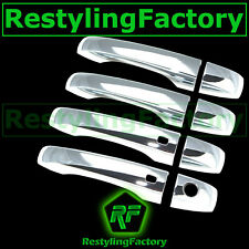 11-15 CHRYSLER 300 Triple Chrome 4 Door Handle+with Smart keyHole Cover 2015