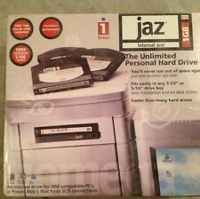 NIB JAZ 1GB Internal SCSI Factory Sealed Iomega Model 10133