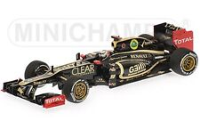 MINICHAMPS 120109 LOTUS F1 TEAM RENAULT E20 model car Raikkonen 1st podium 1:43