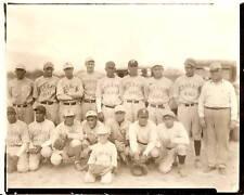 ORIGINAL PHOTO Baseball MIXED RACE TEAM 1920's Minors ?