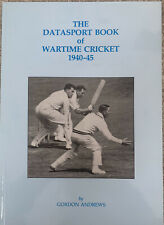 More details for the data sport of wartime cricket 1940-45 signed by author