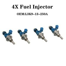 4X OEM Fuel Injector L3K9-13-250A  L3K9 13 250A For 2007-2013 Mazda 3 6 CX-7