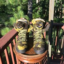 Size 8 Adidas Originals Jeremy Scott JS CAMO BEARS ARMY TEDDY BEAR GREEN Q20917