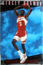 RARE STACY AUGMON HAWKS 1992 VINTAGE ORIGINAL NBA COSTACOS BROTHERS POSTER