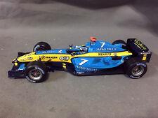 Hot Wheels, Renault, R24 F1 Team, 1/18, DieCast Model, Jarno Trulli, No Box