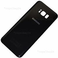 Galaxy S8+ Glas Akkudeckel Ersatz Rückseite schwarz Midnight-Black backcover NEU