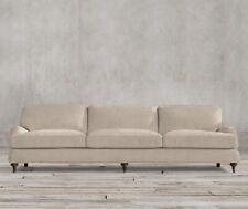 Restoration Hardware Belgian Classic Roll Arm 8 ft. Sofa