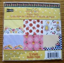 "Mary Engelbreit ""Kitchen / Queen of Everything"" Paper Pack - 2013 Mary & Co."