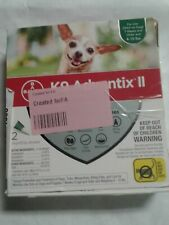 Bayer K9 Advantix II Flea for Small Dogs, 4-10 lbs, 2 monthly doses