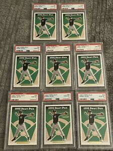 Qty: 8 Investment LOT Of 1993 Topps Gold Derek Jeter Rookie Card PSA Gem Mint 10