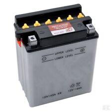Batterie, Starterbatterie 12V 14Ah + Säurepaket, Motorrad