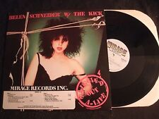 HELEN SCHNEIDER w/THE KICK - Smuggled Out A-Live -1983 Promo Vinyl 12'' Ep/ Rock