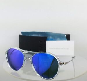 Brand New Authentic SALT Sunglasses ST HUBBINS CRY 55mm ClearPolarized Frame