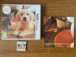 Nintendogs + Cats: Golden Retriever & New Friends (Nintendo 3DS) PAL