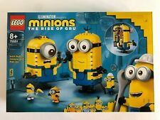 LEGO 75551 The Rise of Gru Brick-built Minions - New and Sealed - FREE UK P+P