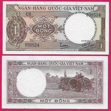 "SOUTH 1 Dong 1964 Pick# 15a Prefix /""D2/"" PMG: 64 UNC #998 CONDITION VIETNAM"