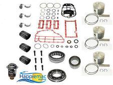 Evinrude 75 90 HP 3 Cylinder ETEC Powerhead Piston Gasket Bearing Rebuild Kit