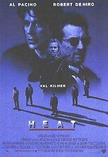 HEAT ~ SHADOWS ~ 27x39 ONE SHEET MOVIE POSTER ~ Al Pacino Robert De Niro Kilmer