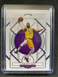 2020-21 National Treasures LeBron James *41/99* Base Los Angeles Lakers #26