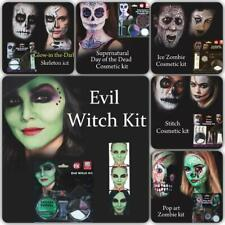 HALLOWEEN FACE PAINT MAKEUP KIT VAMPIRE SKELETON CLOWN WITCHES ZOMBIE MAKEUP SET