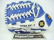 "New ZETT Special Order 12"" Infield Baseball / Softball Glove Blue White Pro LHT"