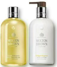 Molton Brown Orange & Bergamot Body Wash & Nourishing Body Lotion 300ml LUXURY